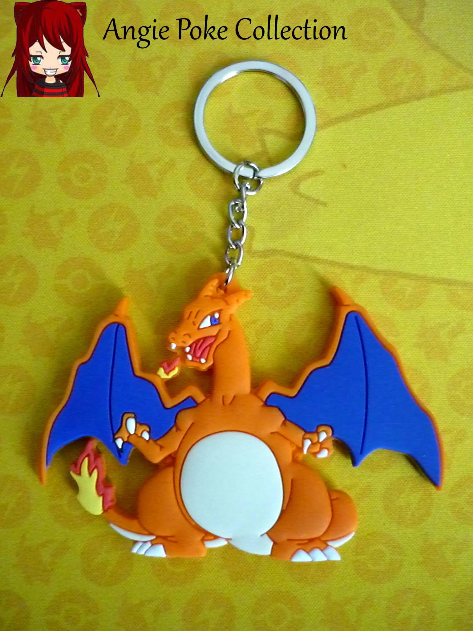 Porte Clés Pokemon Dracaufeu