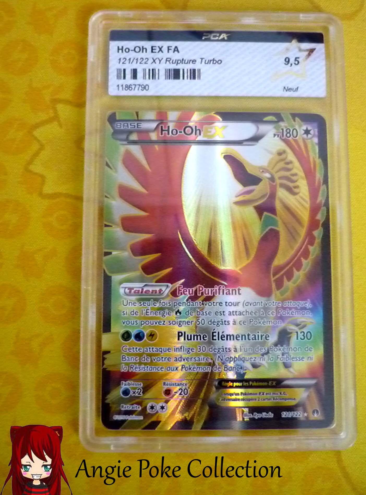 Carte Pokemon Pca Ho Oh Ex Full Art