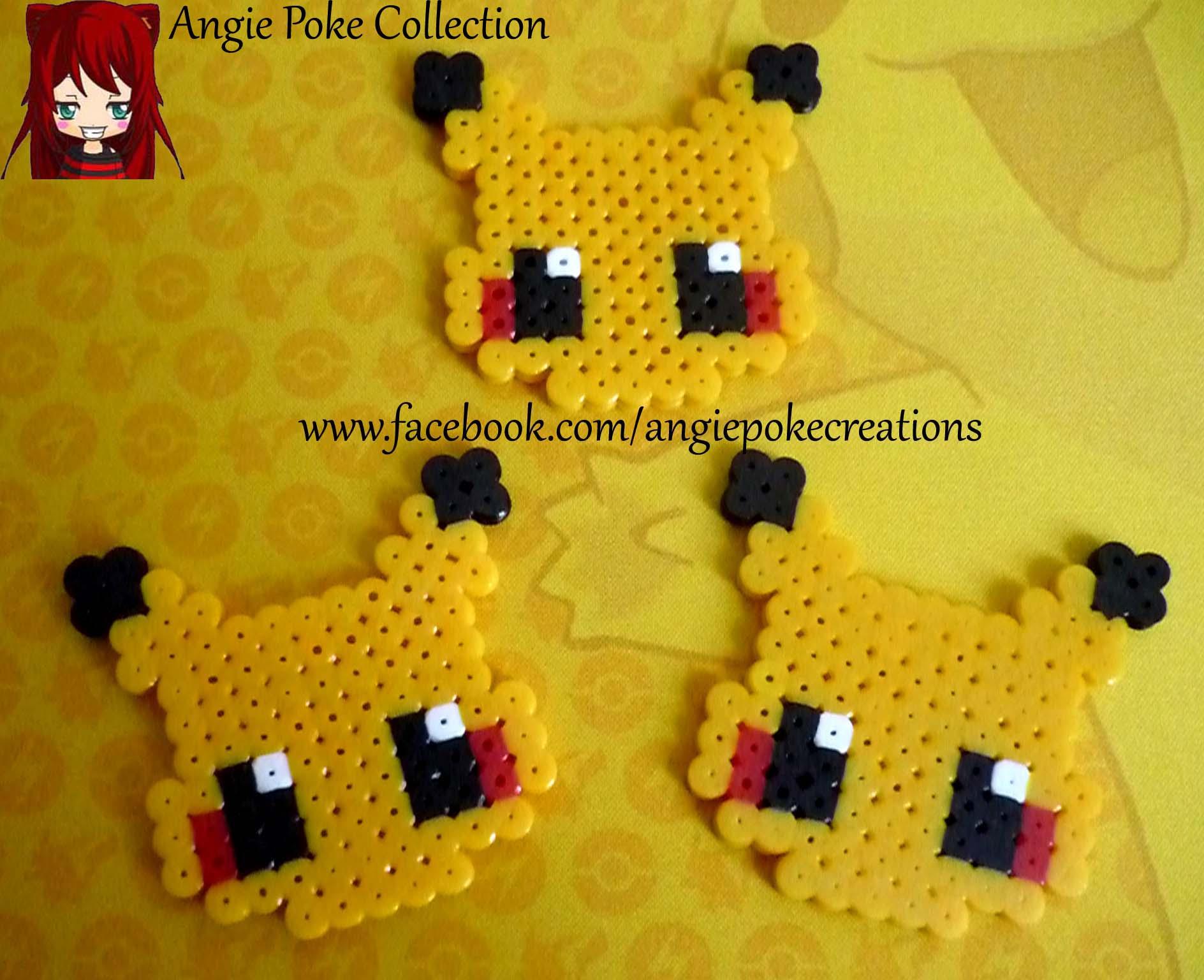 Pixel Art Pokemon Pikachu Petit